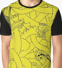 Abstract - The Simpsons Graphic T-Shirt