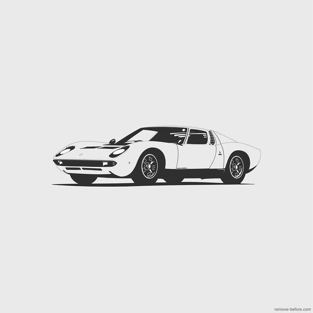 Lamborghini Miura by remove-before