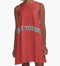 Tuning A-Line Dress