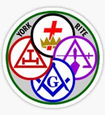 York Rite Sticker