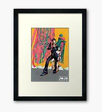 fabulous josuke higashikata 2 Framed Print