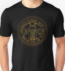 Bohemian Grove Owl - Golden Unisex T-Shirt