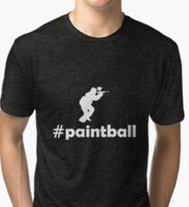 PAINTBALL Tri-blend T-Shirt