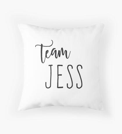Team Jess Throw Pillow