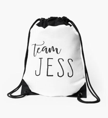 Team Jess Drawstring Bag