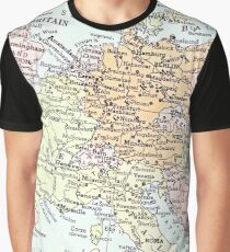 1938 Europe map Graphic T-Shirt