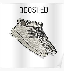 Yeezy Boosted Poster