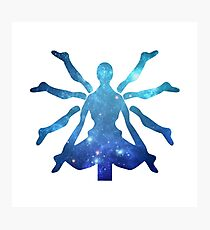 Zenyatta Logo - Galaxy Photographic Print