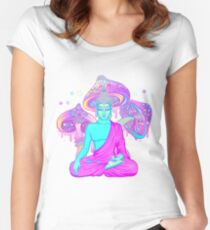 Trippy Buddha Women's Fitted Scoop T-Shirt