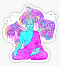 Trippy Buddha Sticker