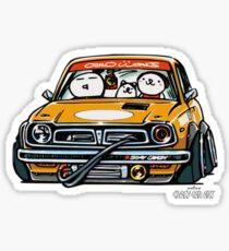Crazy Car Art 0153 Sticker