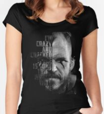 floki quote Women's Fitted Scoop T-Shirt