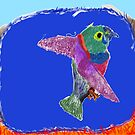 crying bird by Dragoncat