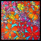 Funky Flowers 1 by ShellsintheBush
