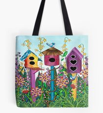 Summer Garden (square) Tote Bag