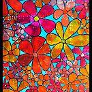 Funky Flowers 2 by ShellsintheBush
