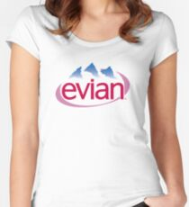 Evian Aesthetic Women's Fitted Scoop T-Shirt