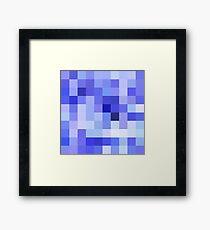 pixe-blue Framed Print