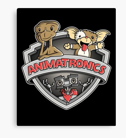 Animatronics Canvas Print