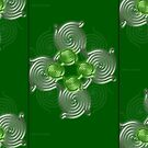 Green Abstract  pattern  3145 Views) by aldona
