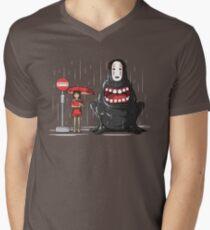 My Hungry Neighbor Men's V-Neck T-Shirt