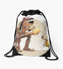 Pikachu pet Drawstring Bag
