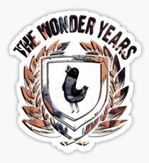 The Wonder Years Logo Sticker