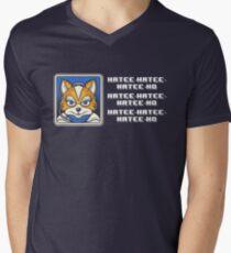 What Does Fox McCloud Say? Men's V-Neck T-Shirt