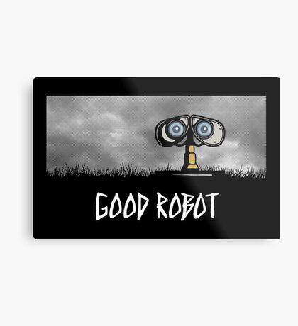 Good Robot Metal Print
