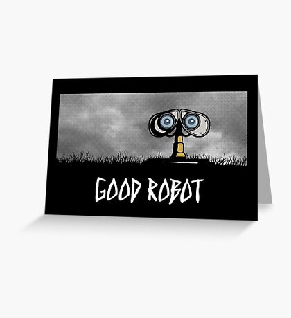 Good Robot Greeting Card