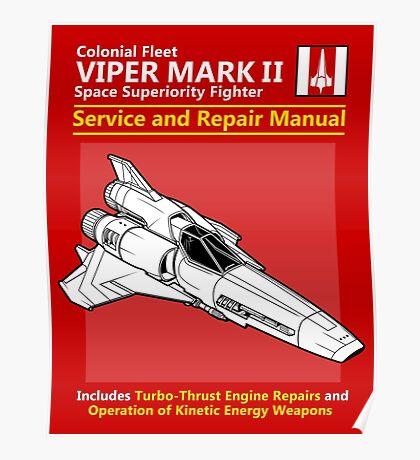 Viper Mark II Service and Repair Manual Poster