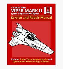 Viper Mark II Service and Repair Manual Photographic Print