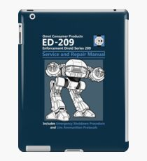 ED-209 Service and Repair Manual iPad Case/Skin
