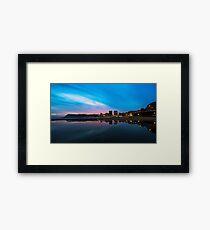 Newcastle Ocean Baths Framed Print