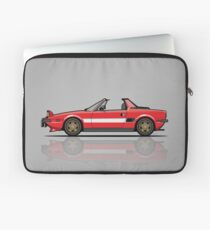 Fiat Bertone X1/9 Orange Stripes Laptop Sleeve