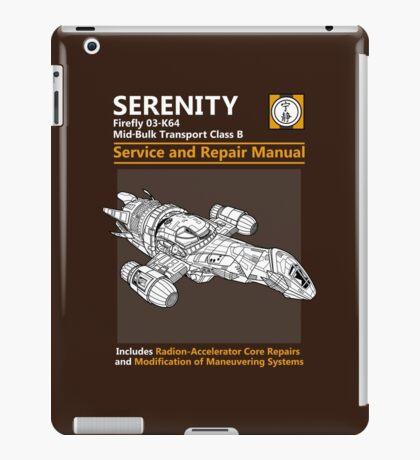 Shiny Service and Repair Manual iPad Case/Skin