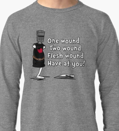 One Wound, Two Wound Lightweight Sweatshirt