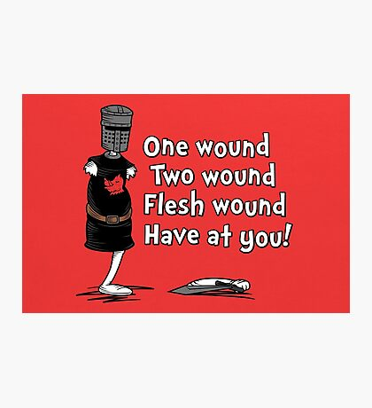 One Wound, Two Wound Photographic Print