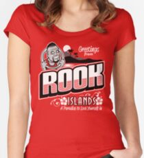 Greetings from Rook Islands Women's Fitted Scoop T-Shirt