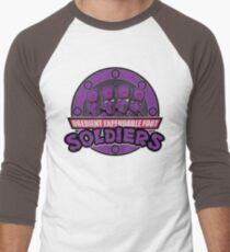 Obedient and Expendable Men's Baseball ¾ T-Shirt