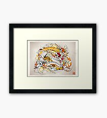 Koi Evolved Framed Print