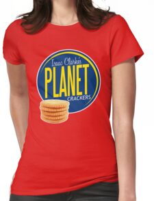 Isaac Clarke's Planet Crackers Womens Fitted T-Shirt