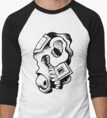 Gnarled Skull - A71 Men's Baseball ¾ T-Shirt