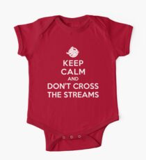 Keep Calm and Don't Cross the Streams One Piece - Short Sleeve