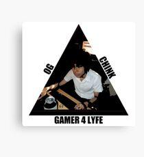 OG CHINK GAMER FOR LYFE Canvas Print