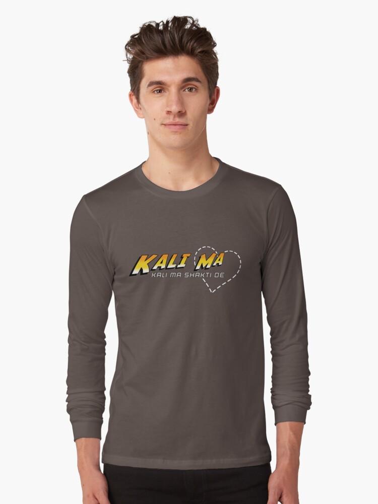 Kali Ma Long Sleeve T-Shirt Front