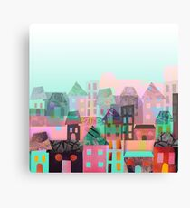 Paper town Canvas Print