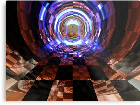 At The End Of The Tunnel II by Hugh Fathers