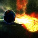 Stellar Collision by Hugh Fathers