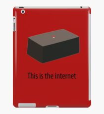 This is the internet iPad Case/Skin